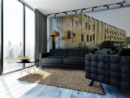 Projekt apartamentu w Nordic Haven w Bydgoszczy