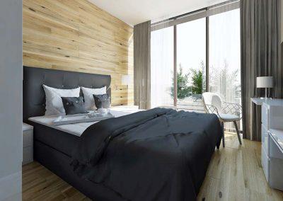 Projektowanie apartamentów w Nordic Haven w Bydgoszczy.
