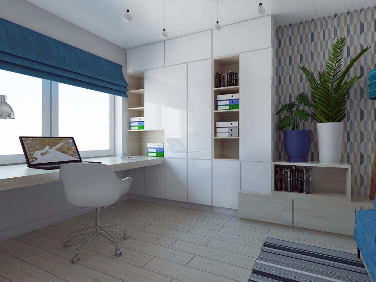 Aranżacja wnętrz biurowych - realizacja Mobiliani Design