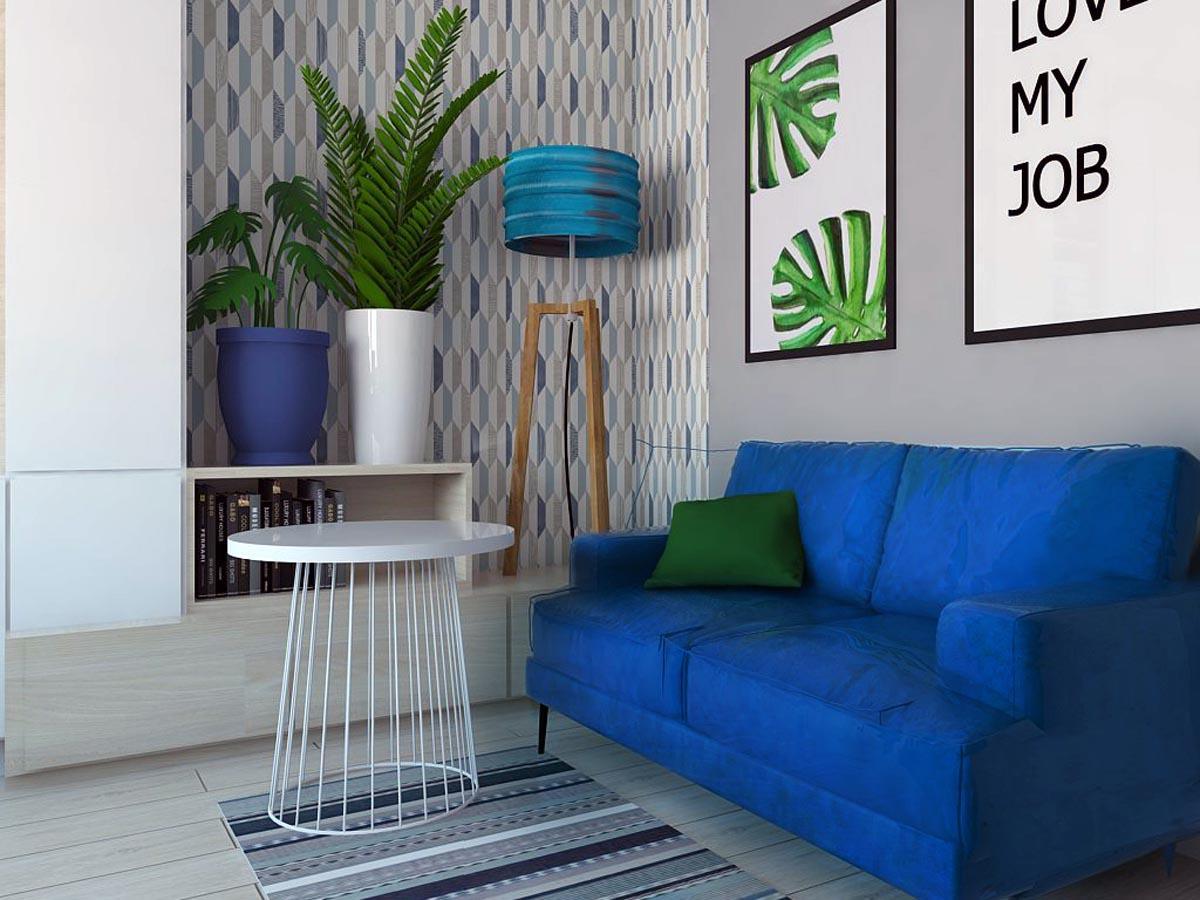 Aranżacja biura - widok na wnętrze i meble