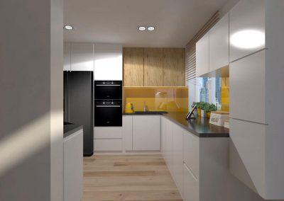 Projekt kuchni w nowoczesnym designie